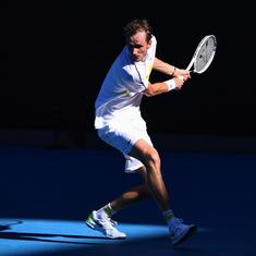 Australian Open: Relentless Medvedev beats the heat and Rublev to reach semi-finals