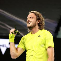 Australian Open: Tsitsipas fights back from two sets down to stun Nadal and reach semi-final