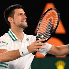 Australian Open: Defending champ Djokovic ends qualifier Karatsev's dream run to reach ninth final