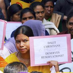 Why are SCs among Buddhists and Sikhs given reservations, but not Dalit Christians and Muslims?