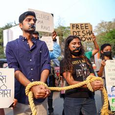 Disha Ravi sent to three-day judicial custody by Delhi court in farm protest document case