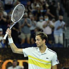 Australian Open: Daniil Medvedev outplays Stefanos Tsitsipas to set up final against Novak Djokovic