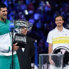 Watch: When Novak Djokovic outplayed Daniil Medvedev to kickstart epic 2021 with Australian Open win