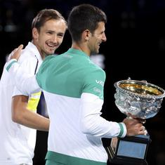 Watch: Big Three are 'cyborgs of tennis', says Daniil Medvedev