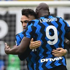 Football: Inter play the perfect game to beat AC Milan and pull clear in Serie A