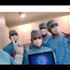 Watch: Manipal Hospital warns against having a 'pawri' in the times of coronavirus