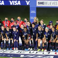 Football: Megan Rapinoe scores brace as US rout Argentina 6-0 to retain SheBelieves Cup