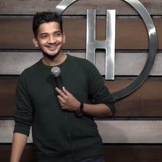 Watch: Comedian Munawar Faruqui is back with a joke after spending over a month in prison