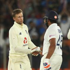 It has certainly been a challenging surface, a challenging two surfaces the last two games: Root