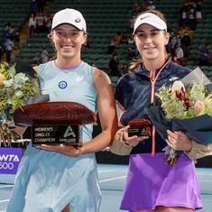 Tennis: Iga Swiatek beats Belinda Bencic in straight sets to win Adelaide International title