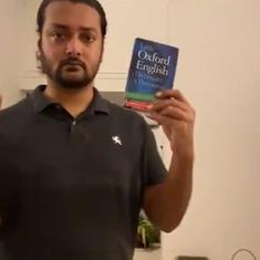 Watch: Comedian from Pakistan presents tutorial on how to speak English like Shashi Tharoor
