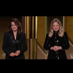 'Award shows are stupid': Watch Tina Fey, Amy Poehler's monologue for Golden Globe Awards 2021