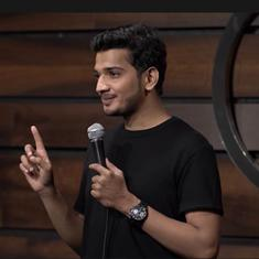 Watch: Comedian Munawar Faruqui's ghost story entertains viewers in this new stand-up video