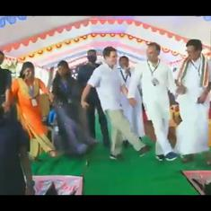 On camera: Rahul Gandhi and Priyanka Gandhi Vadra go dancing in poll-bound Tamil Nadu, Assam