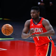 NBA wrap: Zion dominant as Pelicans upset Jazz; Irving, Harden help Nets overcome Spurs