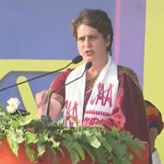 'Congress will bring law to stop CAA in Assam,' says Priyanka Gandhi