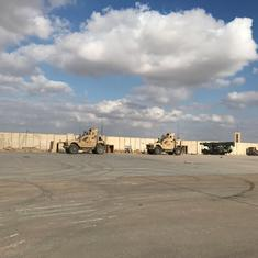 10 rockets hit airbase hosting US troops in Iraq
