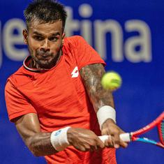 Tennis: Sumit Nagal's Argentina Open run ends in QF after three-set thriller against Ramos-Vinolas