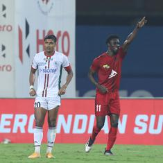 ISL semi-finals: NorthEast United stand up to ATK Mohun Bagan's seasoned stars in tight first leg