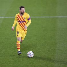 La Liga: Barcelona beat Osasuna to add pressure on leaders Atletico ahead of Madrid derby