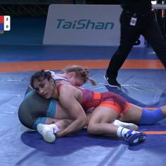 Wrestling: India's Vinesh Phogat clinches gold medal in Rome event for back-to-back titles on return