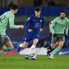 Premier League: Havertz takes Chelsea past Everton; West Ham beat Leeds as top four race heats up