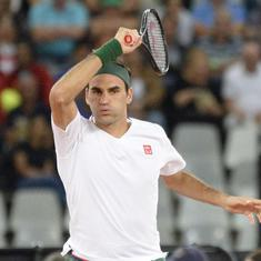Qatar Open: Federer misses match point, loses in three-sets against Basilashvilli in quarter-final