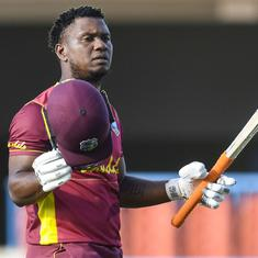 Second ODI: Evin Lewis slams century as West Indies beat Sri Lanka by five wickets to clinch series
