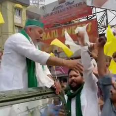 West Bengal polls: Farmer leader Rakesh Tikait urges voters not to support BJP, will visit Nandigram