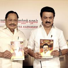 DMK manifesto promises aid up to Rs 1 lakh for pilgrimage to Hindu temples, 75% job quota for Tamils