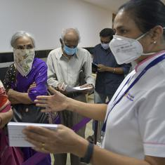 To get the Covid-19 vaccine, India's elderly have to navigate tech and administrative hurdles
