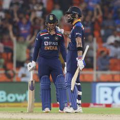 Second T20I: India ride on Ishan Kishan, Virat Kohli's fifties to beat England by seven wickets