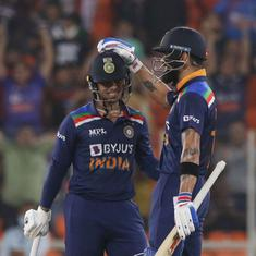 Fearless youth and veteran guile: How Kohli, Kishan took India to an easy win against England