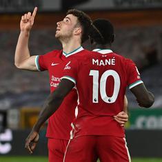 Premier League: Diogo Jota returns as Liverpool score narrow win against Wolves