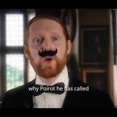 'If your housemate was Agatha Christie's Poirot': Alasdair Beckett-King's satirical sketch