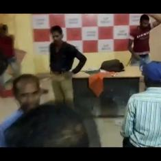 Watch: BJP workers vandalise Malda party office demanding candidate change in West Bengal elections