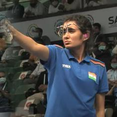 ISSF World Cup: Indian women win bronze in 10m air pistol team event, men miss out in 10m air rifle