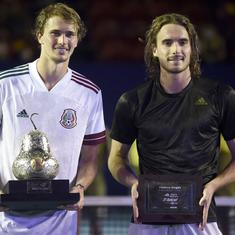 Tennis: Zverev beats Tsitsipas for Acapulco title, Karatsev lifts first ATP singles trophy in Dubai