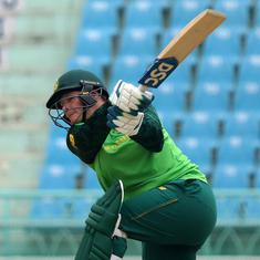 Cricket: Lee, Wolvaardt power South Africa to a series-clinching win over India