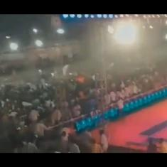 Watch: Makeshift gallery for Kabaddi match collapses from overcrowding, injuring over 100
