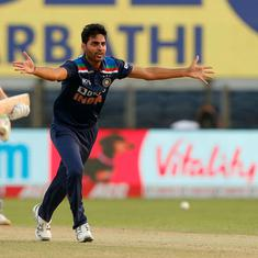 Back where he belongs: The return of Bhuvneshwar Kumar
