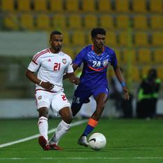 India vs UAE, international friendly, as it happened: UAE thrash India 6-0