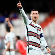Fifa World Cup European qualifiers wrap: Ronaldo opens campaign tally, Belgium join Qatar protests