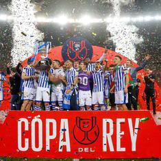Copa del Rey 2020: Oyarzabal scores penalty as Real Sociedad beat Athletic Bilbao to claim title