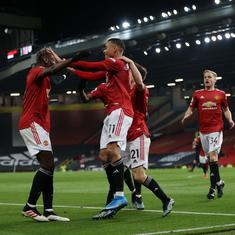 Premier League: Manchester United come from behind to beat Brighton; Spurs held by Newcastle