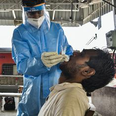 Coronavirus: India registers 96,982 new cases, 446 deaths