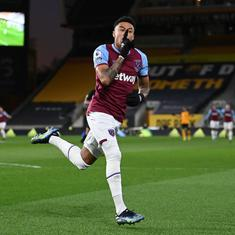 Premier League: Jesse Lingard inspires West Ham to narrow win over Wolves; Everton held by Palace