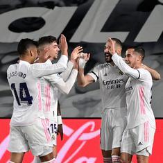 La Liga: Real Madrid go top after victory arch-rivals Barcelona in thrilling El Clasico