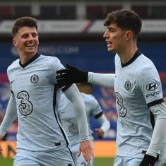 Premier League: Havertz, Pulisic and Mount dazzle as Chelsea thrash Crystal Palace to enter top four