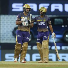 IPL 2021: Kolkata ride on Nitish Rana and Rahul Tripathi's partnership to beat SRH by 10 runs
